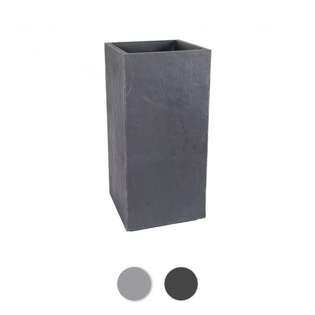 Bac carré  - hauteur 80 cm - 31 litres - Volcania 13739 EDA PLASTIQUES