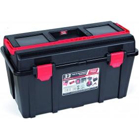 Boîte à outils 1 étage avec organiseur 480x258x255mm TAYG