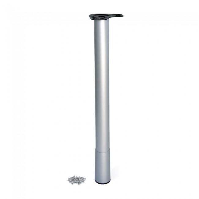 Pieds en acier pour table Conus - diamètre 60 mm EMUCA