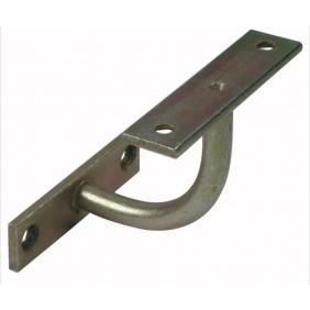 Support de rampe - coudé fixe - platine rectangulaire BRICOZOR