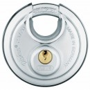 Cadenas à clé - rond - anse protégée et trempée - Diskus® - 23 ABUS