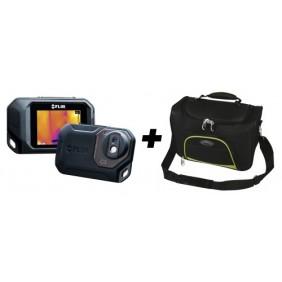 Caméra thermique - pour isolation et étanchéité - Flir C3 THÉARD
