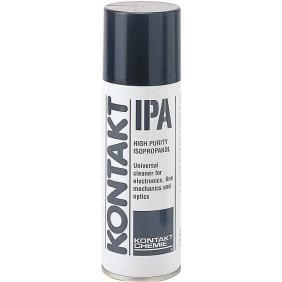 Nettoyant de précision - alcool isopropylique - aérosol 270 ml - IPA KONTAKT CHEMIE