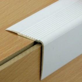 Nez de marche aluminium avec adhésif - Large 41 VA DINAC