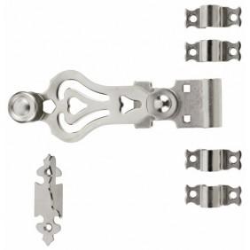 Accessoires espagnolette ronde en acier inox 18/12 TORBEL