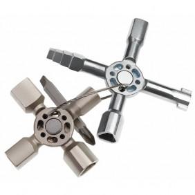 Clés universelles pour système de verrouillage technique - Twinkey KNIPEX