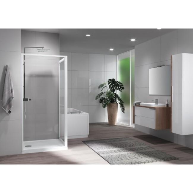Paroi de douche fixe et réversible - Riviera 2.0 F NOVELLINI