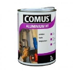 Peinture métallisée - haute température -  Aluminium gris argent COMUS
