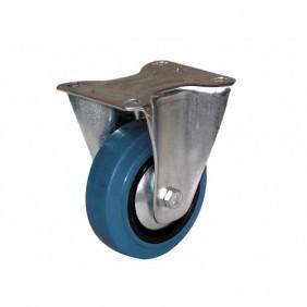 Roulette fixe - sur platine - pour charges moyennes - Port Roll GUITEL