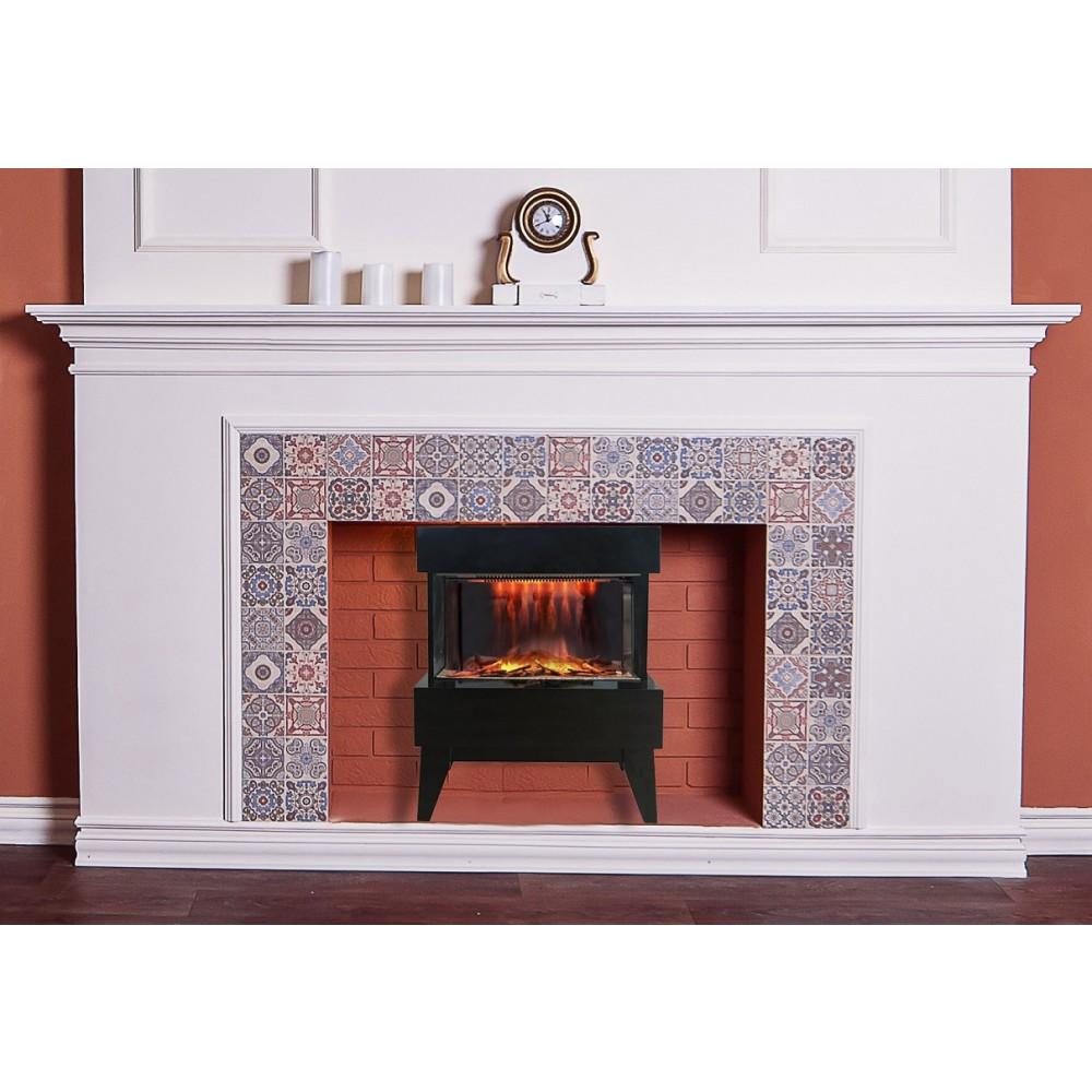 Foyer Electrique Design W Effet Flammes : Foyer électrique vidrio avec flamme d visible à