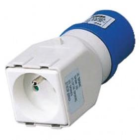 Adaptateur brochage industriel/domestique GEWISS
