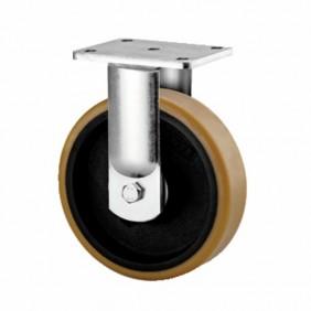 Roulette fixe sur platine - pour charges lourdes - type 9688 TENTE