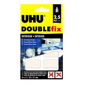 Pastille adhésive Doublefix intérieur - double face et ultra-puissant Uhu