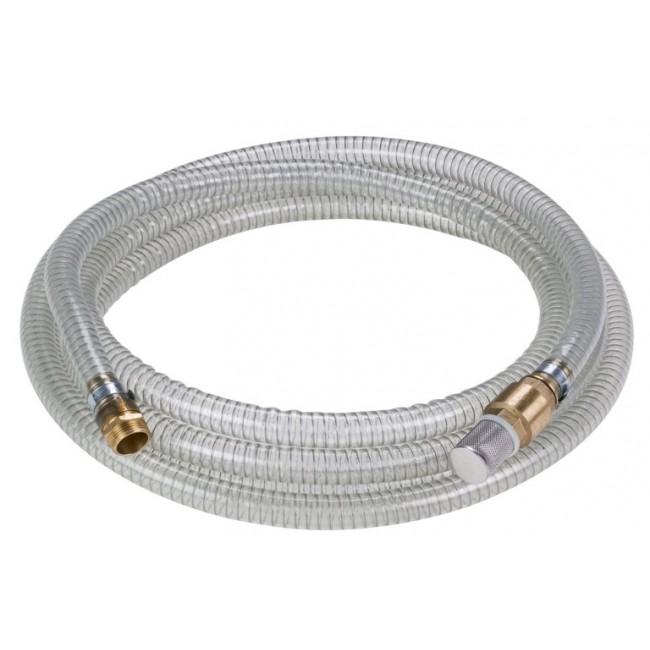 Kit tuyau d'aspiration cristal - longueur 7 m pour pompe EINHELL