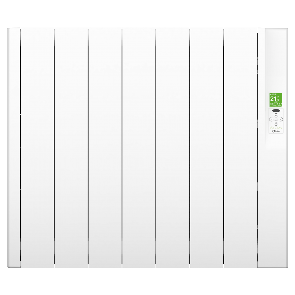radiateur lectrique blanc basse consommation sygma rointe bricozor. Black Bedroom Furniture Sets. Home Design Ideas