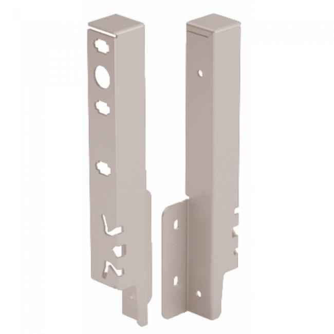 Raccords de paroi arrière pour tiroir ArciTech-H186 mm-argent HETTICH