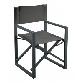 Lot de 2 fauteuils de jardin directeur - assise en textilène - Sonarina INDOOR OUTDOOR