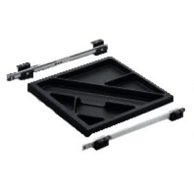 Bac de bureau - à l'anglaise - kit plumier complet - Systema Top 2000 HETTICH