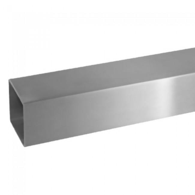 Main courante - tube carré 40 x 40 mm - en inox Design Production