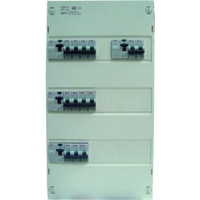 Coffret électrique pré-équipé - 3 rangées - logement supérieur à 100 m2 AEG