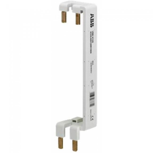 Peigne d'alimentation vertical - phase + neutre ABB
