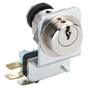 Contacteur à clé - pour ventouses électromagnétiques - 3 cosses - T25 RONIS