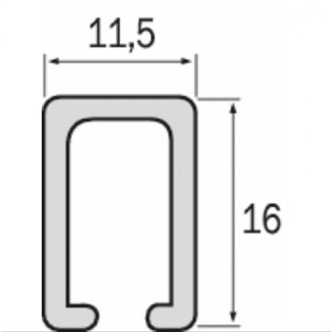 Rail de guidage pour porte coulissante s rie - Rail de guidage pour porte coulissante ...