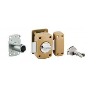 Verrou de haute sûreté - A2P* - à bouton et cylindre - Transit 2 FTH THIRARD