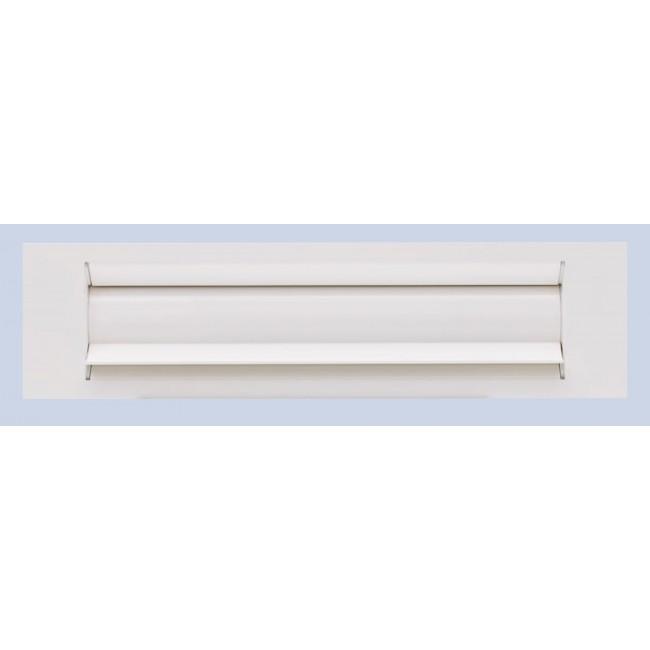 Entrée de boite aux lettres isolante - aluminium blanc GOETTGENS SA