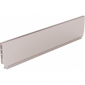 Paroi arrière standard en acier pour tiroir ArciTech-H 186 mm-argent HETTICH
