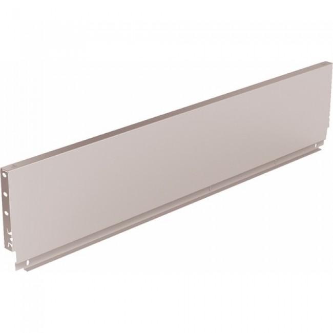 Paroi arrière en acier pour tiroir ArciTech-Standard-Hauteur 186 mm HETTICH