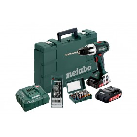 Perceuse à percussion 18 Volts SB 18 LT + embouts et forets offerts METABO