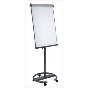 Chevalet de conférence magnétique - 105 x 68 cm - base ronde mobile EDDING