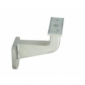 Support de rampe - coudé - sur platine demi-lune à visser - type 150 BRICOZOR