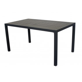 Table de jardin aluminium - 150 x 90 cm - Sarana 150 INDOOR OUTDOOR