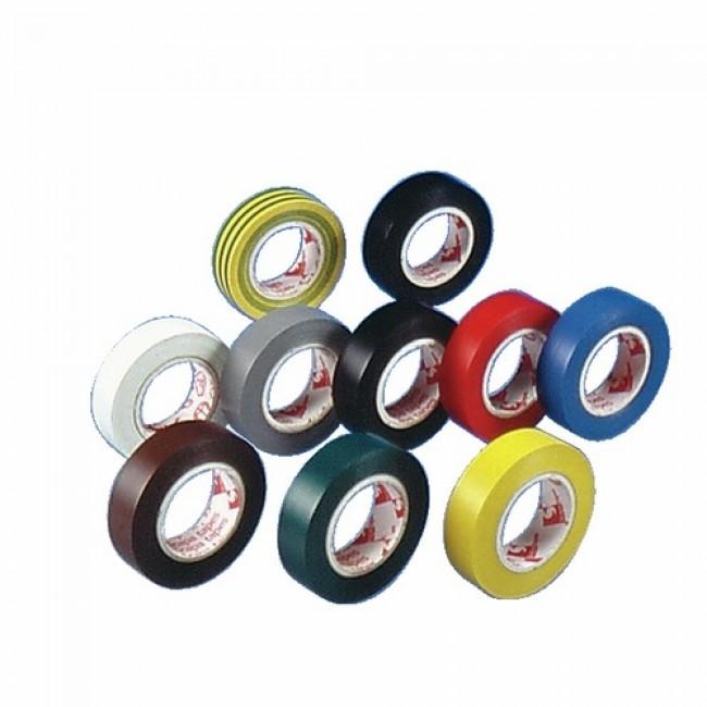 Isolant électrique 2702 - Multi-coloris - 10 rouleaux de 10m BARNIER