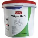 Lingettes pré-imprégnées polyvalentes - nettoyage industriel - Wipes IND CRC