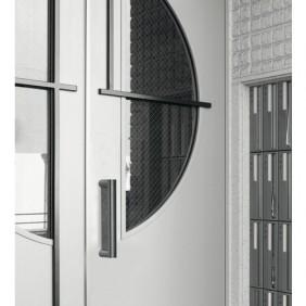 Poignée de porte battante - anti vandalisme - inox 304 DUVAL