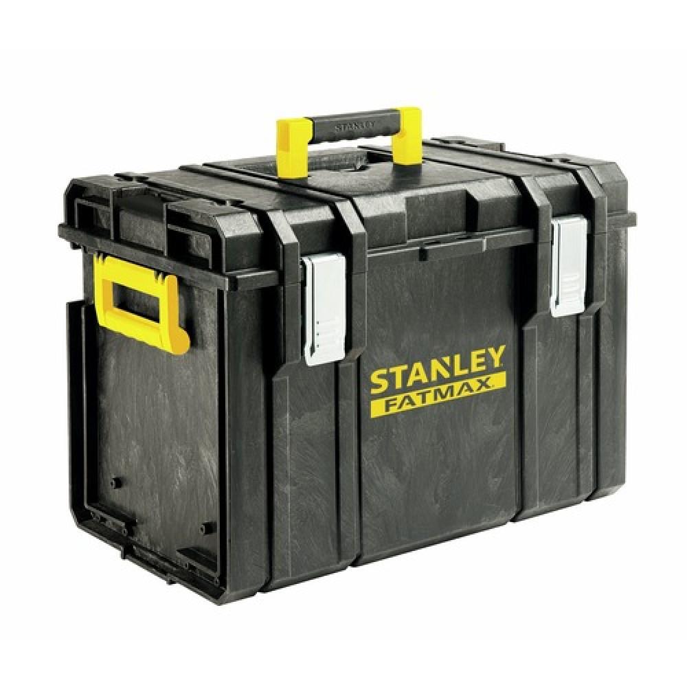 mallette de rangement capacit 34 5 litres toughsystem ts400 stanley bricozor. Black Bedroom Furniture Sets. Home Design Ideas