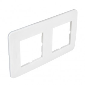 Plaque Casual - blanc brillant DEBFLEX