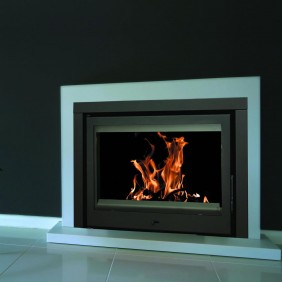 Insert à bois - pour surface 120 m2 - L70.5 x P45 X H51.5 cm - C130 TERMOFOC