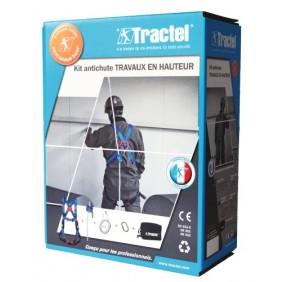 Kit antichute - travaux en hauteur - couvreur TRACTEL