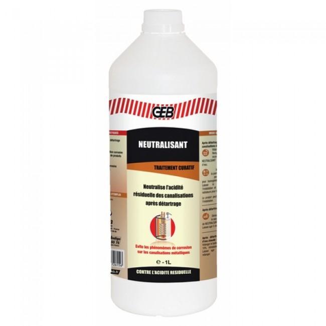 Neutralisant pour l'entretien chauffage - inhibiteur de corrosion G70 GEB
