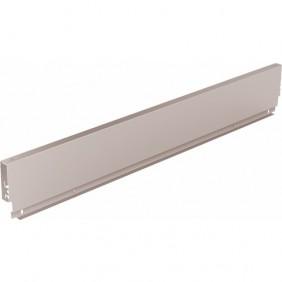 Paroi arrière standard en acier pour tiroir ArciTech-H 126 mm-argent HETTICH
