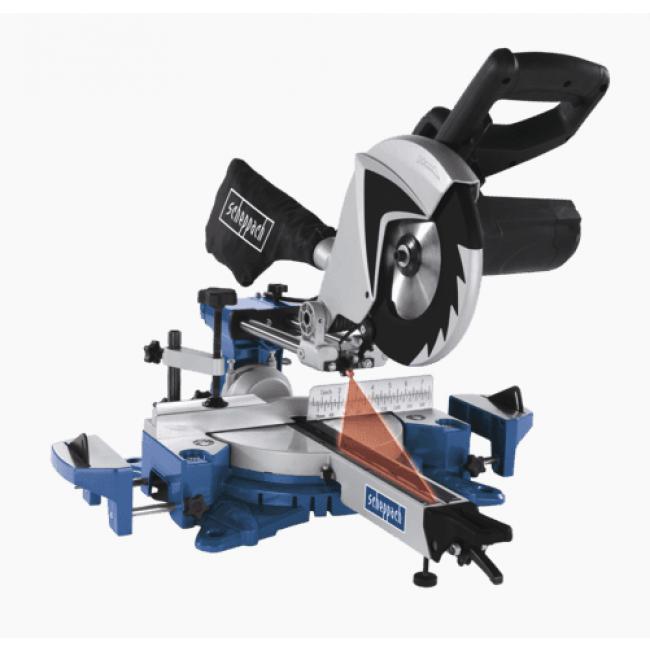 Scie à onglet radiale 1700 W HM80MP-5901207901 SCHEPPACH
