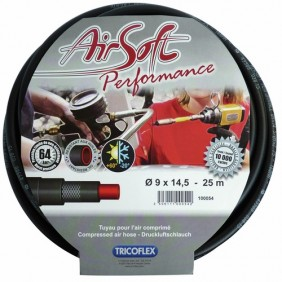 Tuyau air comprimé - renforcé en fibre polyester - Airsoft Performance TRICOFLEX