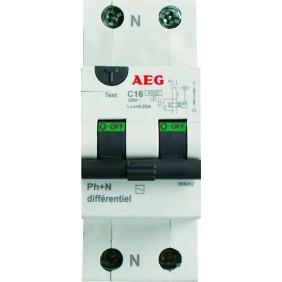 Disjoncteur différentiel - type AC AEG