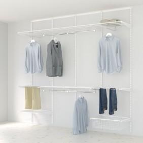 Kit dressing Classique - L240xP40 cm - blanc ELFA