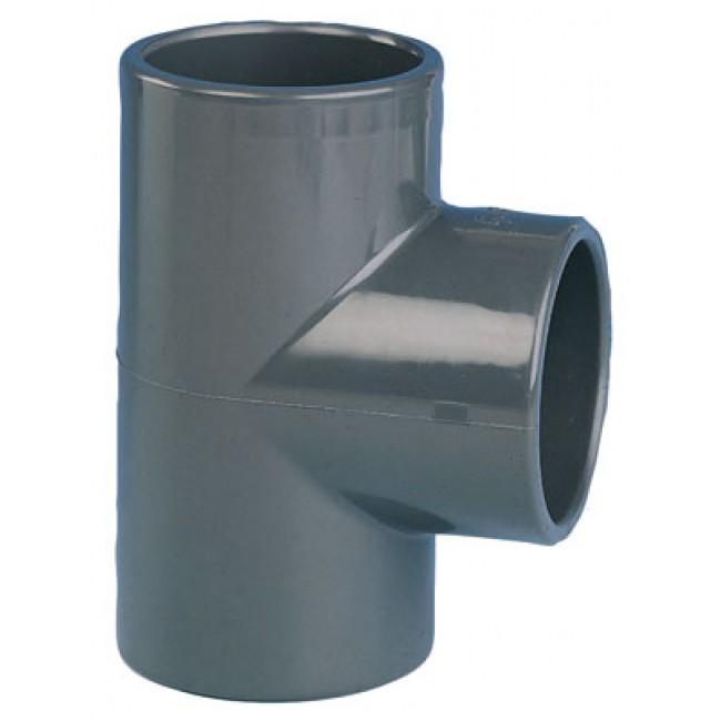Té PVC pression 90° femelle / femelle à coller CODITAL