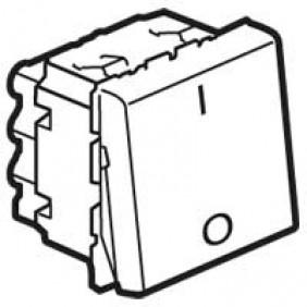Interrupteur bipolaire Mosaic - 2 modules - 20 AX - blanc LEGRAND